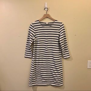 Blue & White Striped Old Navy Sweater Dress